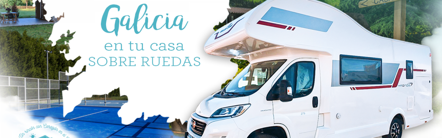 Discover Galicia on wheels in our Maruxiña motorhome