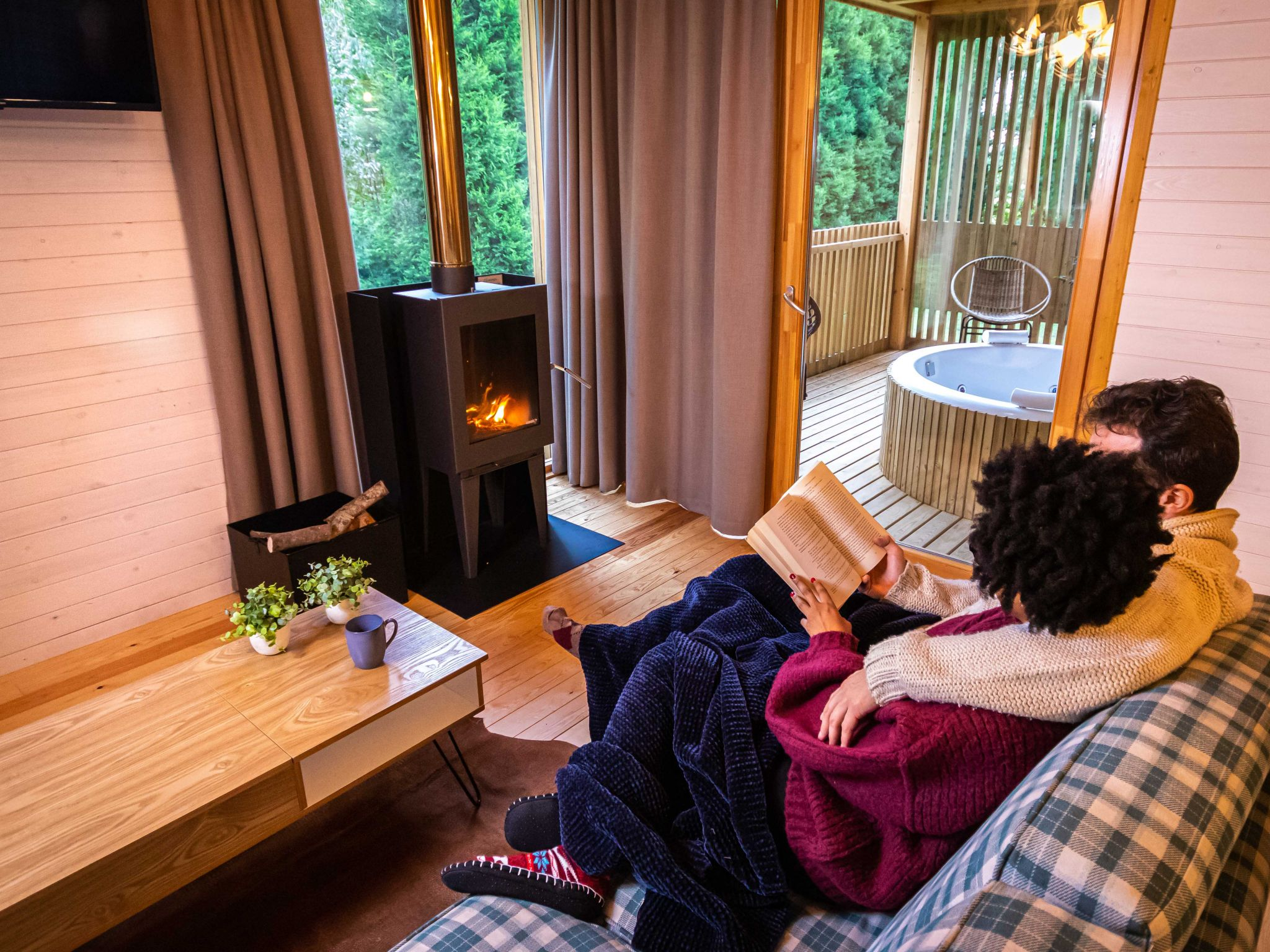 St. Valentine's Day in Vila sen Vento: celebrate love in our little cabins among the trees